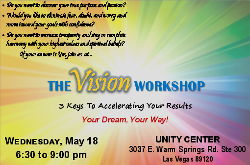 Vision Workshop Basic UCiV 5-18-16