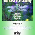 The ABCs of Prosperity